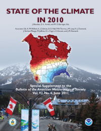 BAMS State of the Climate in 2010 Cover