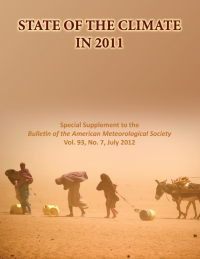 BAMS State of the Climate in 2011 Cover