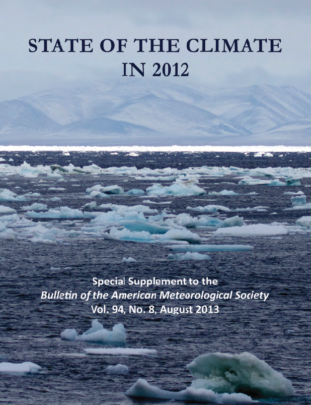 State of the Climate in 2012 Cover