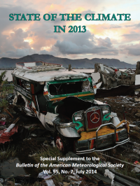BAMS State of the Climate in 2013 Front Cover