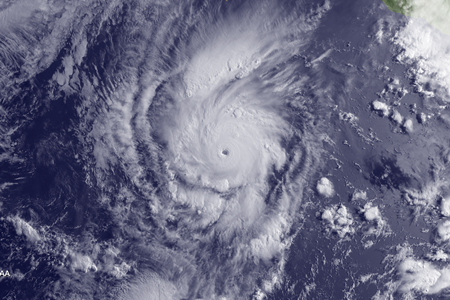 Hurricane Amanda Satellite Image