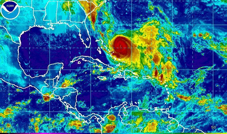 Hurricane Joaqiun Satellite Image