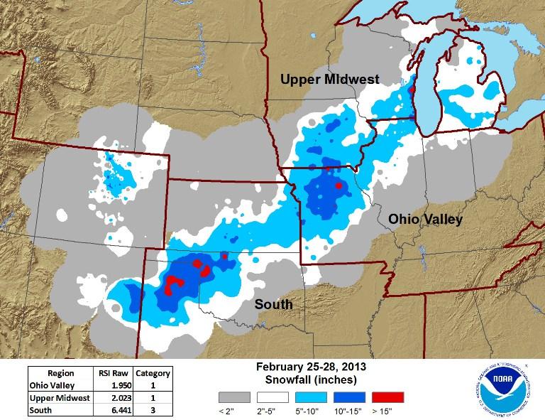 RSI February 25-28 Snow Storm