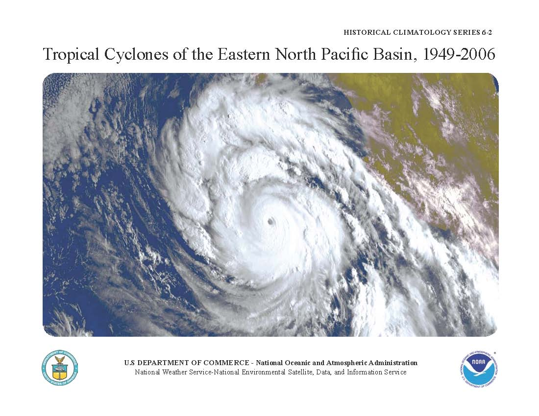 Image for Tropical Cyclones of the Eastern North Pacific Basin, 1949-2006