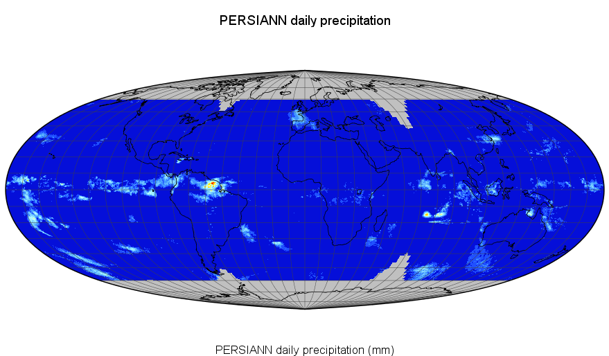 PERSIANN-CDR Daily Precipitation Example
